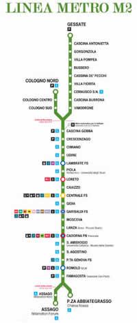 Orari Metro M Villa Fiorita