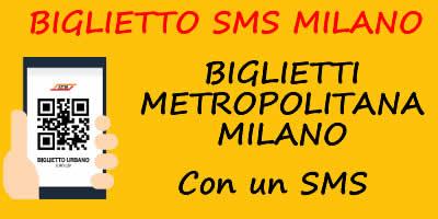 Biglietti Metropolitana Milano con SMS
